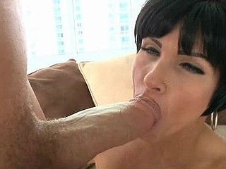 Beauty loves to get her loving holes stuffed by big penis
