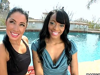 Sweet Jesus ... I really think u people are gonna love this weeks Assparade update. We brought in Monica Santhiago and Eve Madison for a rail session. My allies those two large booties get the shit railed out of 'em. I must say..