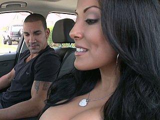 Sexy MILF Kiara Marie on a cock