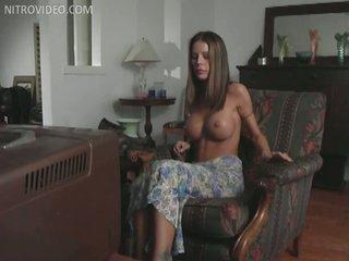 Hawt MILF Tabitha Stevens Masturbating