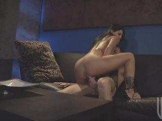 Brunette Milf Just Can't live out of Her Husbands Big Ramrod