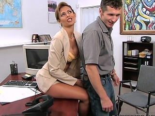 A classic MilfLessons update from 2004. Monique is our most excellent Mother I'd As if To Fuck we've ever had the chance working with and watching her fuck youthful studs. Tall, sexy Latin Babe with a body of a goddess. Each..