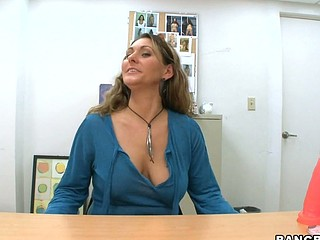 Welcome back for one more great episode of Back Room Mother I'd Like To Fuck. Stopping by the office this day will be the sexy mother i'd like to fuck Devin James. That Babe heard throughout the grapevine that Bangbros is the place..