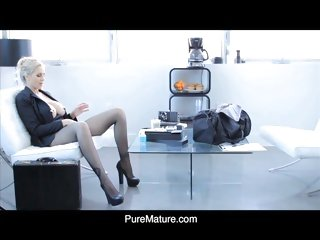 Pure Mature Pleasure Before Business